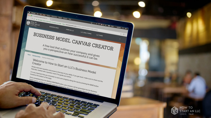 Business Model Canvas Creator Image