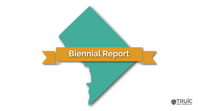 District of Columbia LLC Biennial Report Image