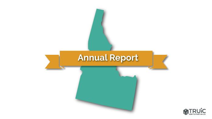 Idaho LLC Annual Report Image