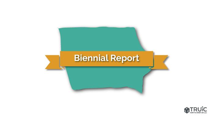 Iowa LLC Biennial Report Image