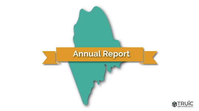 Maine LLC Annual Report Image