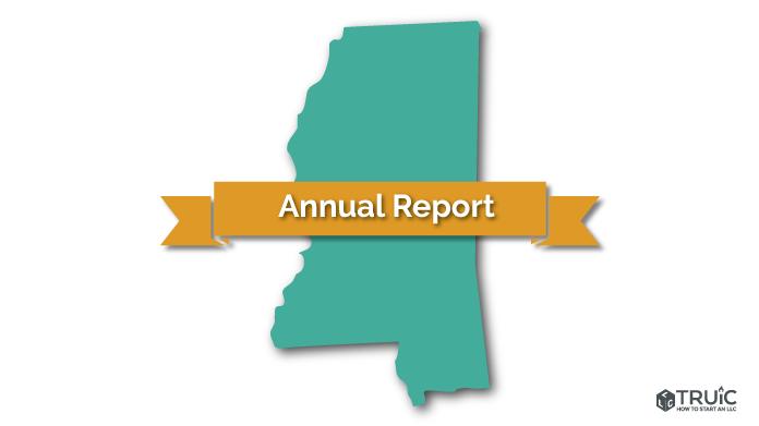Mississippi LLC Annual Report Image