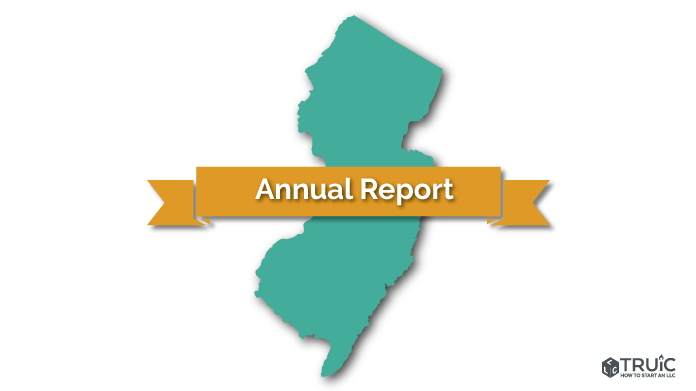New Jersey LLC Annual Report Image