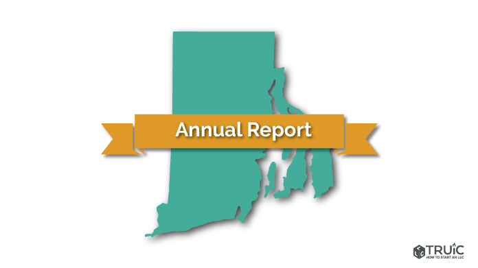 Rhode Island LLC Annual Report Image