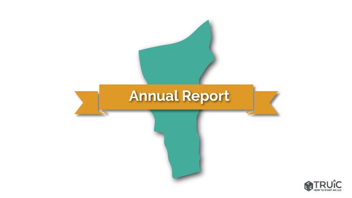 Vermont LLC Annual Report Image