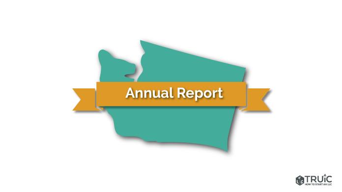 Washington LLC Annual Report Image