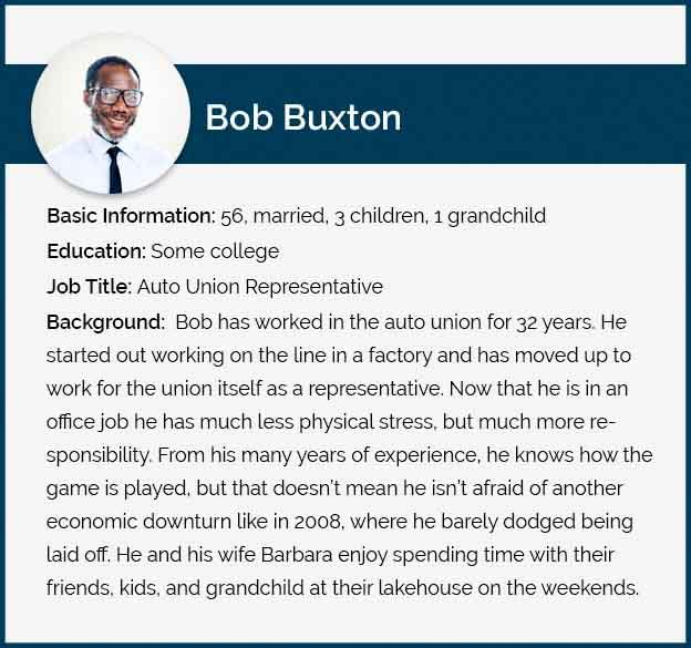 Bob Buxton Persona