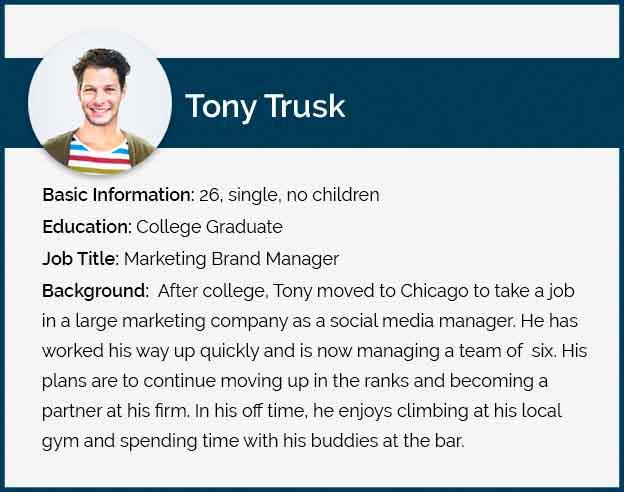 Tony Trusk Persona