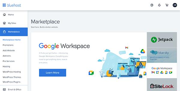 WordPress marketplace.