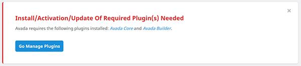 WordPress update plugin manager.