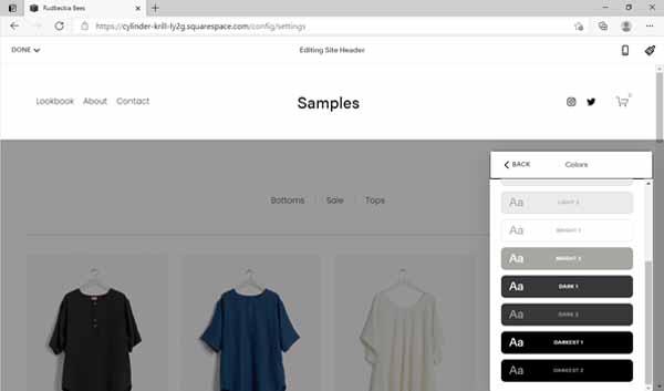 Shopify vs Squarespace.