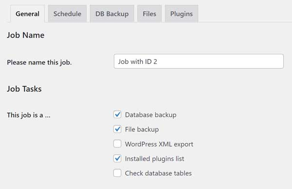 How to backup your Wordpress site.