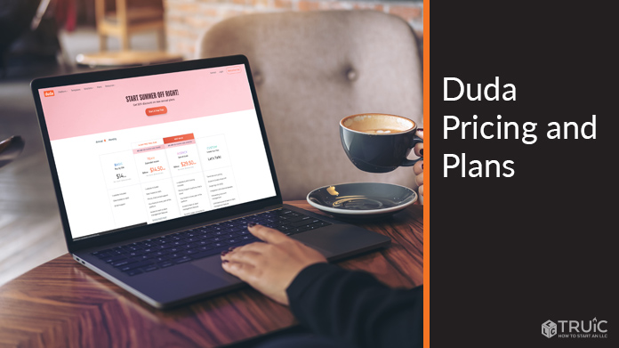 Duda pricing and plans.