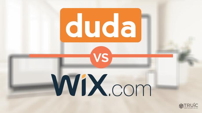 Duda vs Wix website builder.