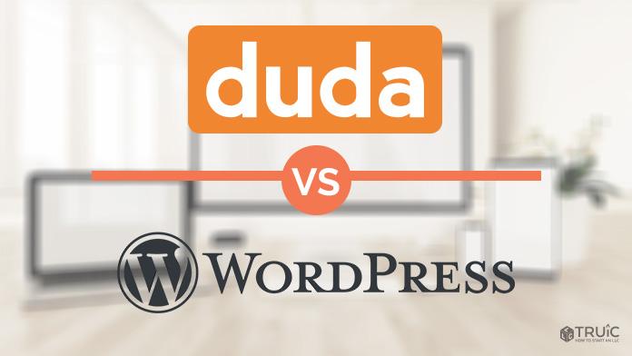 Duda vs Wordpress website builder.