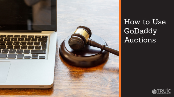 How to use GoDaddy auctions.