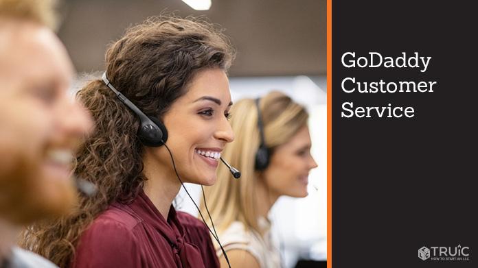 GoDaddy customer service.