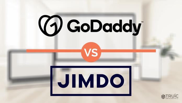 GoDaddy vs Jimdo.
