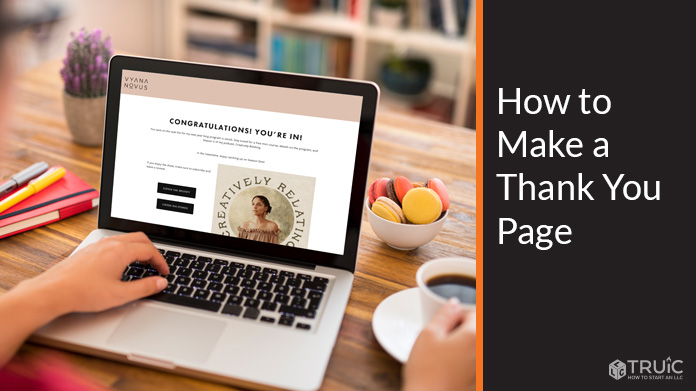 How to Make a Thank You Page - Thank You Page Examples.