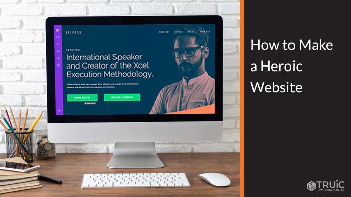 Website made with heroic website builder.