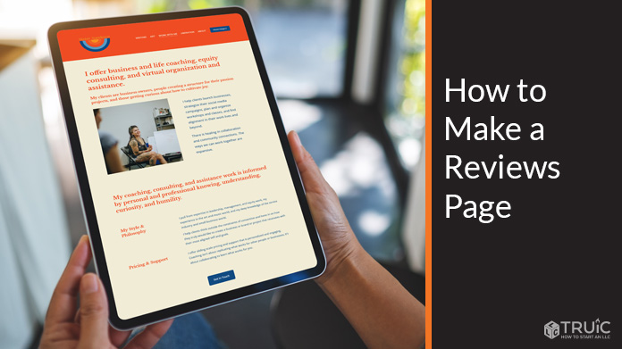 How to Make a Reviews Page.
