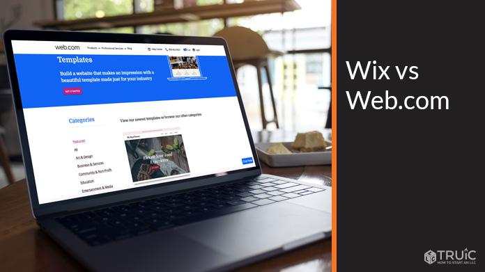 Wix vs Web.com.