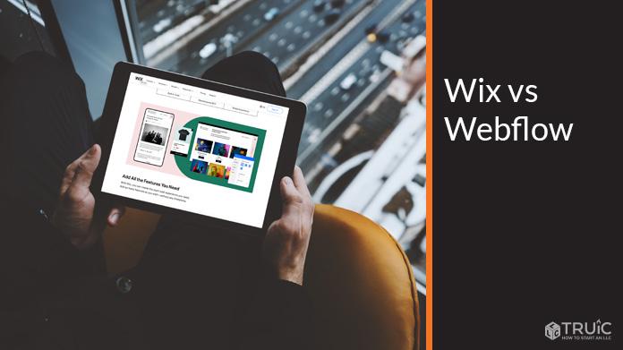 Wix vs Webflow.