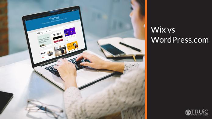 Wix vs WordPress.com.