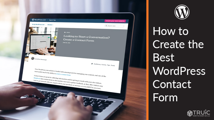 Learn how to create the best Wordpress contact form for your business website.