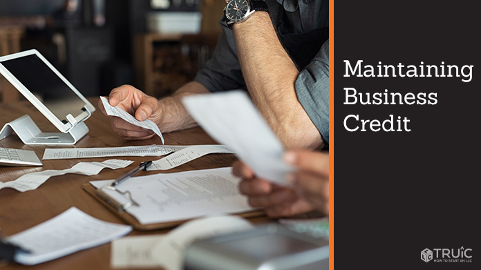 How to Maintain Business Credit