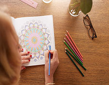 Image for Adult Coloring Book Company Article