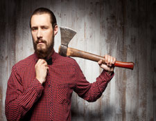 Image for Axe-Throwing Party Business Article