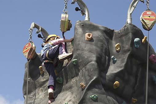 Mobile Rock Climbing Wall Business Image