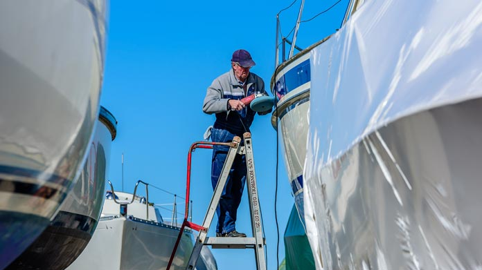Boat Cleaning Service Image