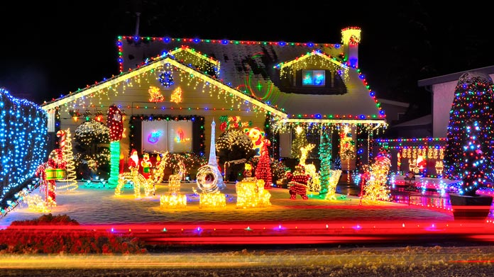 christmas lights installation business image