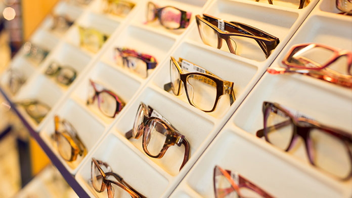 Glasses Store Image