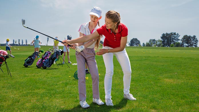 Golf Instruction Business Image