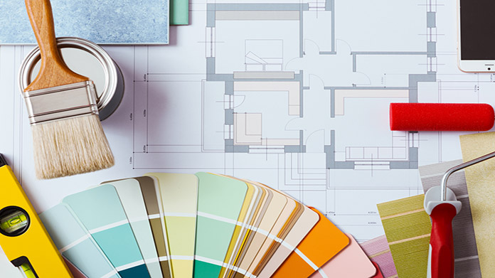 How to start a house painting business how to start an llc for Home interior design company