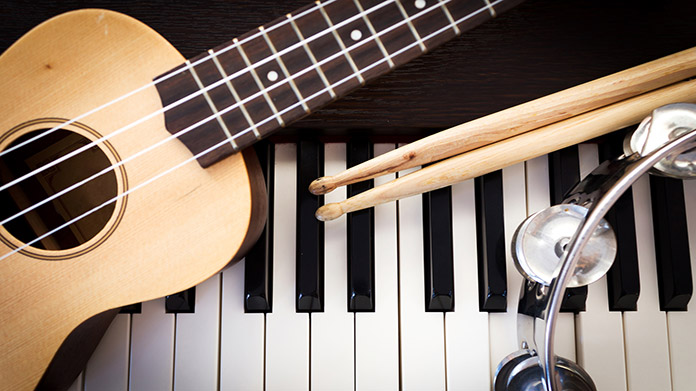 Musical Instrument Store Image