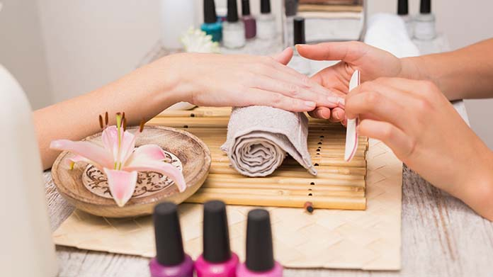 Image result for typical nail salon services