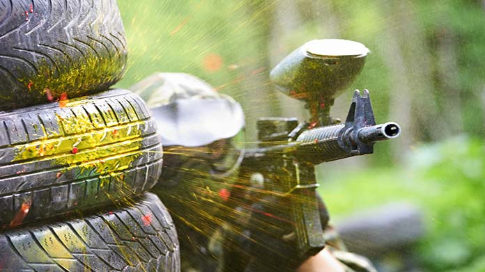Paintball Field Image