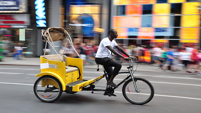Pedicab Business Image