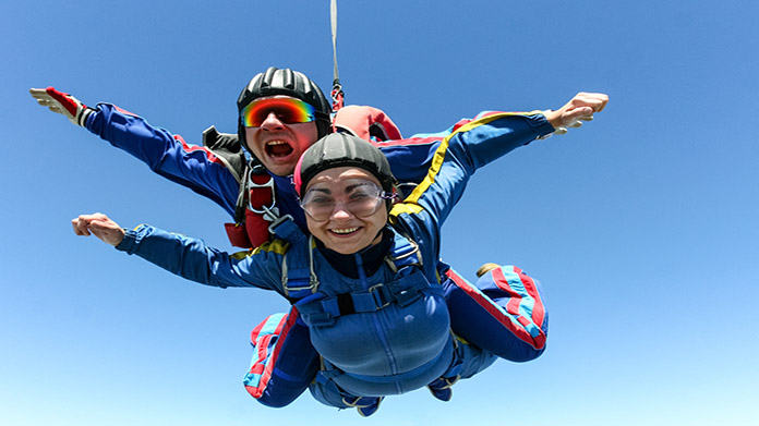 Skydiving Business Image