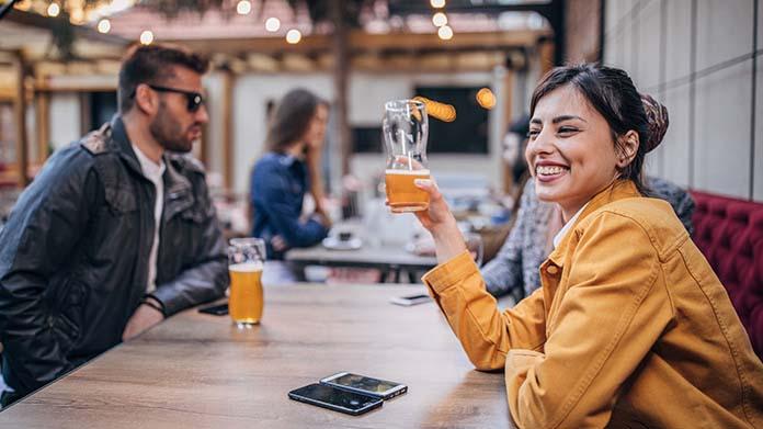 Beer Garden Image
