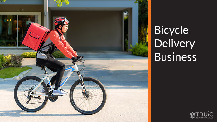 Bicycle Delivery Business Image