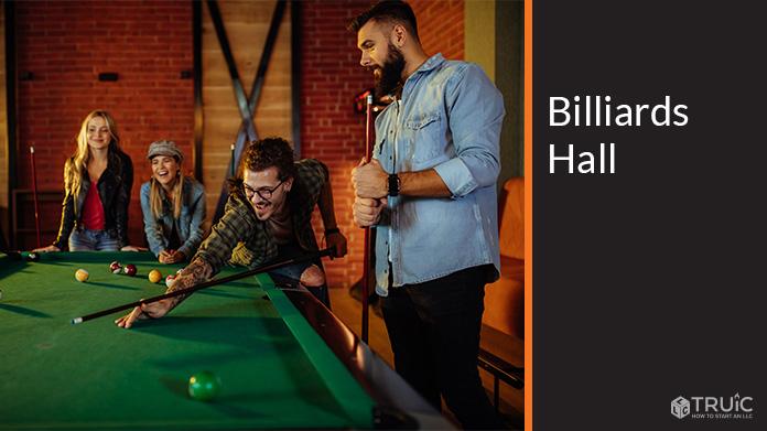 Billiards Hall Business Image