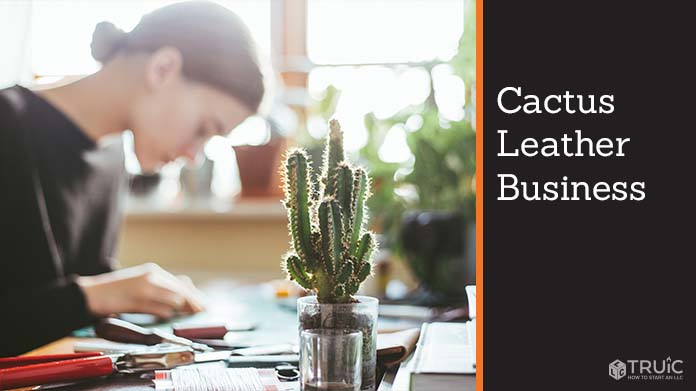 Cactus Leather Business Image