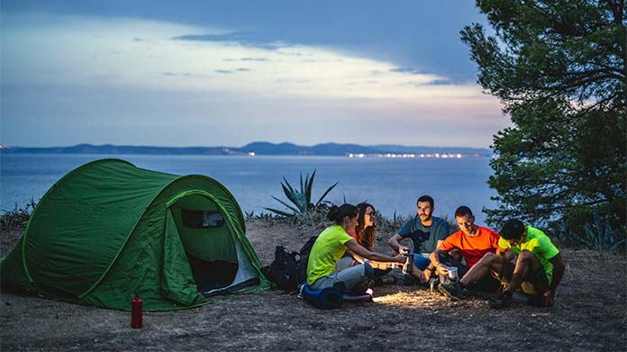 Camping Retreat Business Image