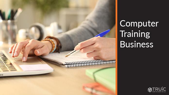 Computer Training Business Image