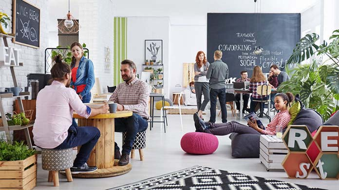 Coworking Space Business Image